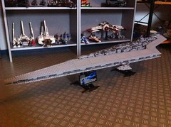Lego Super Star Destroyer (10221) (Jeroen_K) Tags: star lego super destroyer wars ucs 10221