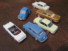 Japanese 1950s-60s cars - Nissan Datsun 211 & 210, Prince Skyline, Toyopet Corona, Hino Contessa, Hino-Renault