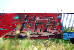 Fun with the crew! (Fat Heat .hu) Tags: red fun graffiti spray heat spraycan graffitiart cfs coloredeffects fatheat