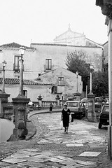 Caulonia - Calabria. A return to the past (Sergio Vaiani) Tags: people italy architecture composition landscapes blackwhite italia streetphotography calabria architettura bianconero paesaggio composizione caulonia italiantowns atomicaward sergiovaiani