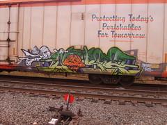 idk (TheRapLetterTechnician) Tags: railroad car train graffiti virginia dc md streak box ns norfolk maryland rail trains southern va area rails boxcar streaks dmv hobo freight boxcars gondolas hoboes railroads tankers freights reefers monikers moniker