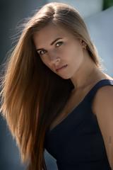 Anna (KondratovychPhotography) Tags: light portrait colour girl face photoshop model nikon ukraine 100mm 28  cherkassy   cs5  kalejnar  d5100