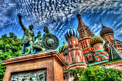 Saint Basil (Gabrielradio) Tags: rosso moscow art church sainbasil fantastic redsquare fake antani hdr cool