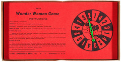 1967 Wonder Woman game - spinner (Tom Simpson) Tags: wonderwoman vintage comics game boardgame gaming retro spinner instructions