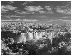 Sunset - Iguazu Falls from Brazilian side (jkardysphotos) Tags: iguazzufalls iguassufalls waterfalls infrared nikond80