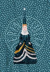 fataMole (CCS / GMC) Tags: ccs gmc giulia maria calderini creative studio mole antonelli card cartolina fantasy fata fatamole torino illustrazione