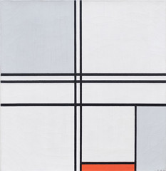 Composition (No. 1) Gray-Red, 1935 (Jonathan Lurie) Tags: piet mondrian art museums modern museum chicago artic institute painting aic artinstituteofchicago artinstitute artinmuseums modernart pietmondrian photographsofart