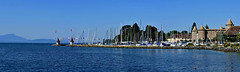 Port de Morges (Diegojack) Tags: nikon nikonpassion d7200 paysages panorama léman lac port bateaux morges chateau fabuleuse