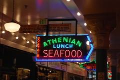 Seattle - Pike Place Market - Athenian Restaurant (jrozwado) Tags: northamerica usa washington seattle pikeplace market shopping