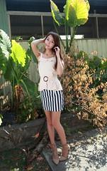 IMG_4850 (c0466art) Tags: lovely cute pretty university taiwan girl  beautiful eyes figure slim long hair sweet smile nextdoor kind charming gorgeous out door portrait light canon 1dx c0466art