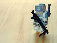 Space-Bot (.Ravager) Tags: lego legography drone bots brickarms robots military machine