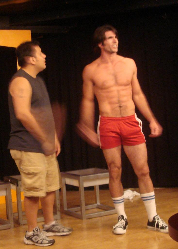 Hot hunk bulge