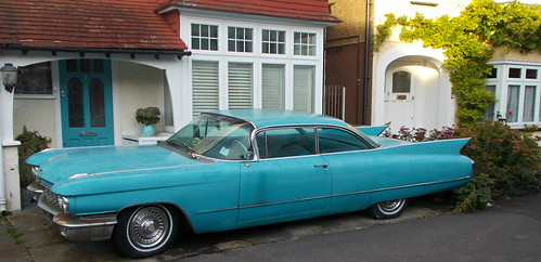 SUTTON, Surrey, Greater London - American car