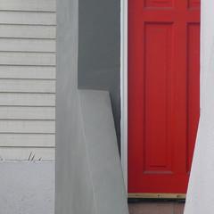 fitting in (msdonnalee) Tags: door reddoor entry dwwg facade facciate fachada geometry geometrie