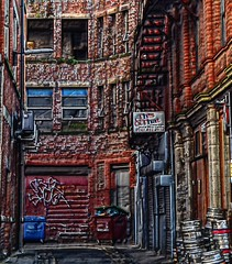 Northern Quarter - Manchester (Duane Jones Cheshire1963) Tags: manchester northern quarter soap street tib arndale industrial mill staircase hdr image centre nikon d3100 duane jones flick colour manipulate this that