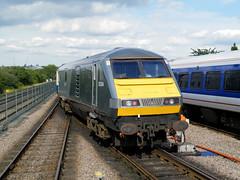 82304 (R~P~M) Tags: uk greatbritain england london train coach unitedkingdom railway depot wembley dvt mark3 chilternrailways dbarriva