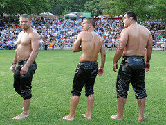 Oil wrestlers at the arena (d.mavro) Tags: shirtless beautiful greek big fighter nipples body masculine muscle muscular wrestling chest north handsome hunk sensual arena greece torso wrestler biceps hombre turk homme bulge grecoroman pehlivan yağlı güreş athlet λαδια κιουσπέτια