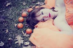 Orange Queen (beyondimpression) Tags: portrait orange beauty soft mystical pure