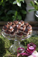 Tiramisu Mini Cupcakes (CopperKitchenMD) Tags: wedding summer spring display rustic crab bbq baltimore event chef tablesetting cater kevinmiller copperkitchen