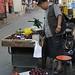 Street fruit stand