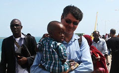 Tanzanian refugees return to Zanzibar (UNHCR) Tags: africa ferry tanzania island child refugees staff help aid zanzibar protection assistance unhcr somalia hornofafrica returnees pembaisland humanitarianworker unrefugeeagency voluntaryrepatriation brunogeddo unitednationshighcommissionerforrefugees