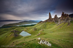 Old Man of Storr, Trotternish Ridge, Isle of Skye (JamboEastbourne) Tags: old mountain man skye sunrise scotland stac isle sanctuary pinnacle trotternish storr explored