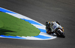 MotoGP Estoril 2012 (Cludio Silva 72) Tags: portugal shark 45 elf dunlop akrapovic autodromodoestoril moto2 canon40d motogpportugal scottredding