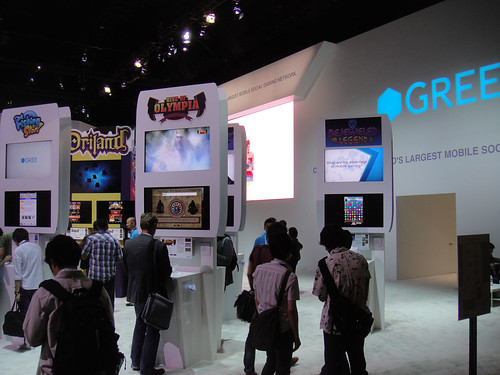 E3 Expo 2012 - GREE booth