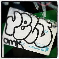 RELS (billy craven) Tags: chicago sticker usps handstyles cmk slaptag rels label228 uploaded:by=instagram