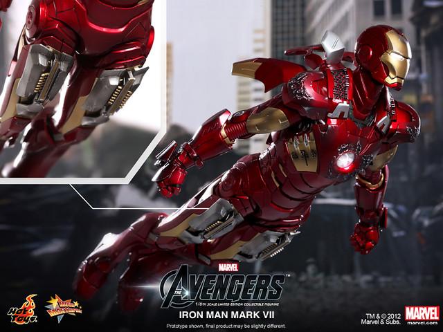 Hot Toys - MMS185 - 復仇者聯盟:1/6 鋼鐵人馬克7