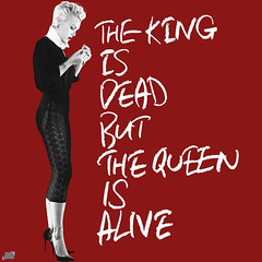 P!nk - The King Is Dead But The Queen Is Alive (Jonatas MeIo) Tags: pink love me last dead one is artwork kiss truth king blow queen cover about but alive bside the digial pnk jonatasciccone