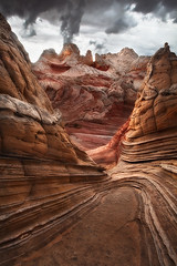 White Pocket (PaulRojas) Tags: arizona sandstone desert monsoon americansouthwest 1635mmf28lii whitepocket 5dmkii whitepocketaz