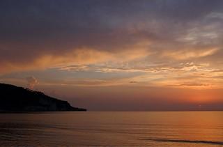 Peschici sunset