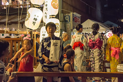 KYOTO DAYS ~ Gion-Matsuri Festival (junog007) Tags: boy summer girl festival night nikon kyoto child gion 28300mm d800 gionmatsuri gionmatsurifestival