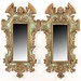 116. Pair of Baroque style Decorative Wall Mirrors