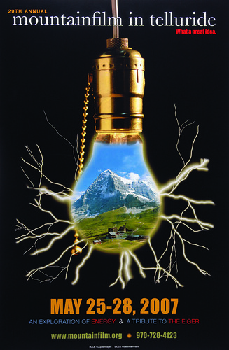 2007 Mountainfilm in Telluride Festival Poster