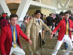 Which is the Real Lupin? (neshachan) Tags: friends costume cosplay brian baltimore otakon cosplayer zenigata lupiniii  baltimoremd animeconvention lupinthe3rd cosplaying  lupin3 otakon2012
