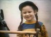 Sara Gilbert appearing in an advert for Cool Aid, aged 6 years old Supplied by WENN