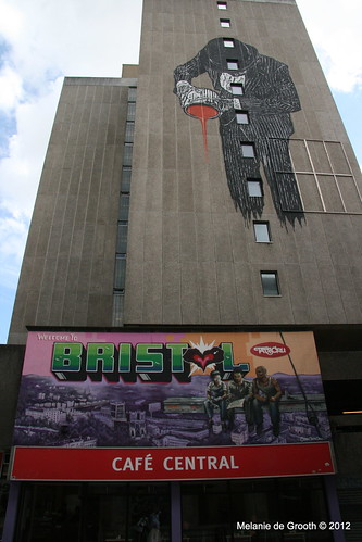 Graffiti by Nick Walker (top) and Tats Cru (bottom)