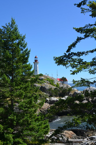 Through the Trees, Point Atkinson Lighthouse