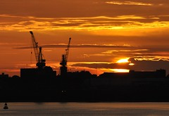 Cammell  Laird Sunset (Keo6) Tags:
