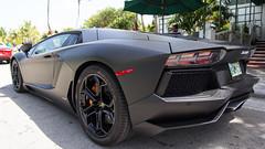 2012 Lamborghini Aventador - Rear Left Side.jpg (Bob's Corner) Tags: florida miami southbeach 2012lamborghiniaventadorlp7004