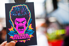 BLACK DYNAMITE (espressoDOM) Tags: hilarious sandiego bokeh cartoon cadillac karate glowinthedark 70s guns comiccon hoes cartoonnetwork sdcc pimps blacksploitation sandiegocomiccon blackdynamite sdcc2012 sandiegocomiccon2012