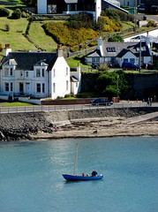 Boating in the Harbour (Jani Helle) Tags: scotland boat harbour portpatrick dumfriesandgalloway sailingboat portpatrickharbour portphdraig september2011