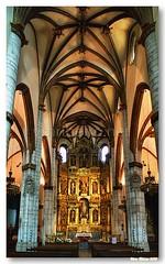 Interior da Igreja de Sao Miguel Arcanjo (vmribeiro.net) Tags: church miguel espanha interior s vitória igreja arcanjo