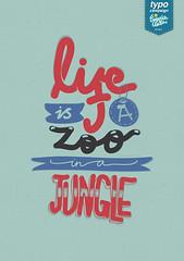 Life Is A (eugeniaclara) Tags: art poster word typography quote text type typo textart adobeideas