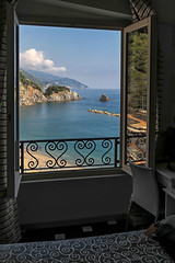 Room With A View (glness) Tags: sea italy hotel mediterranean room cinqueterre monterosso gregness