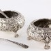 S66. Pair of Sterling Repousse Salts