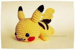 Chibi Pikachu Amigurumi : Pokemon Chikorita Seara1 Tags Pokemon Amigurumi Chikorita ...
