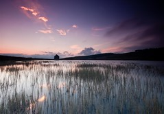 midgetastic (tom fincher) Tags: sunset evening scotland dusk perthshire scottish hut loch kenmore bothy lochan amulree